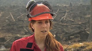Firefighters clear hot spots on B.C.'s Green Mountain