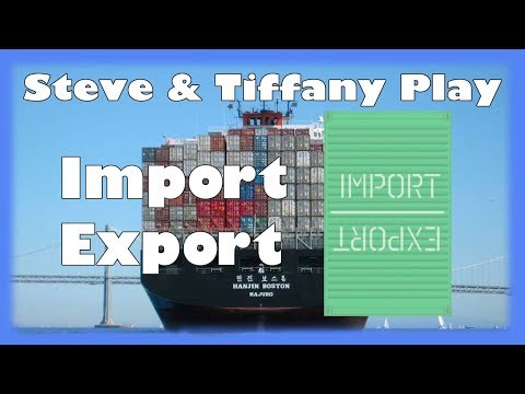 Steve & Tiffany Learn & Play: Import Export