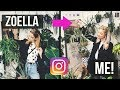 I Copied Zoella's Instagram For A Week... | Abi Else