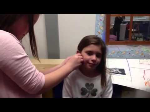 How To Put Earrings In Your Ear Youtube