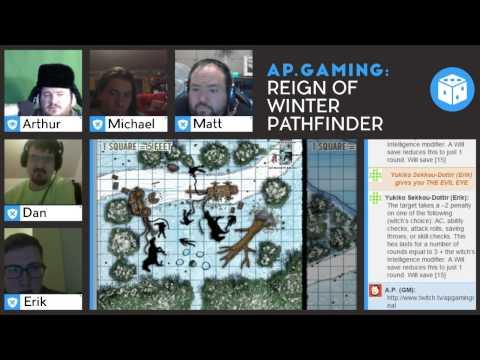 Reign of Winter, Pathfinder, Week 1 Part 1