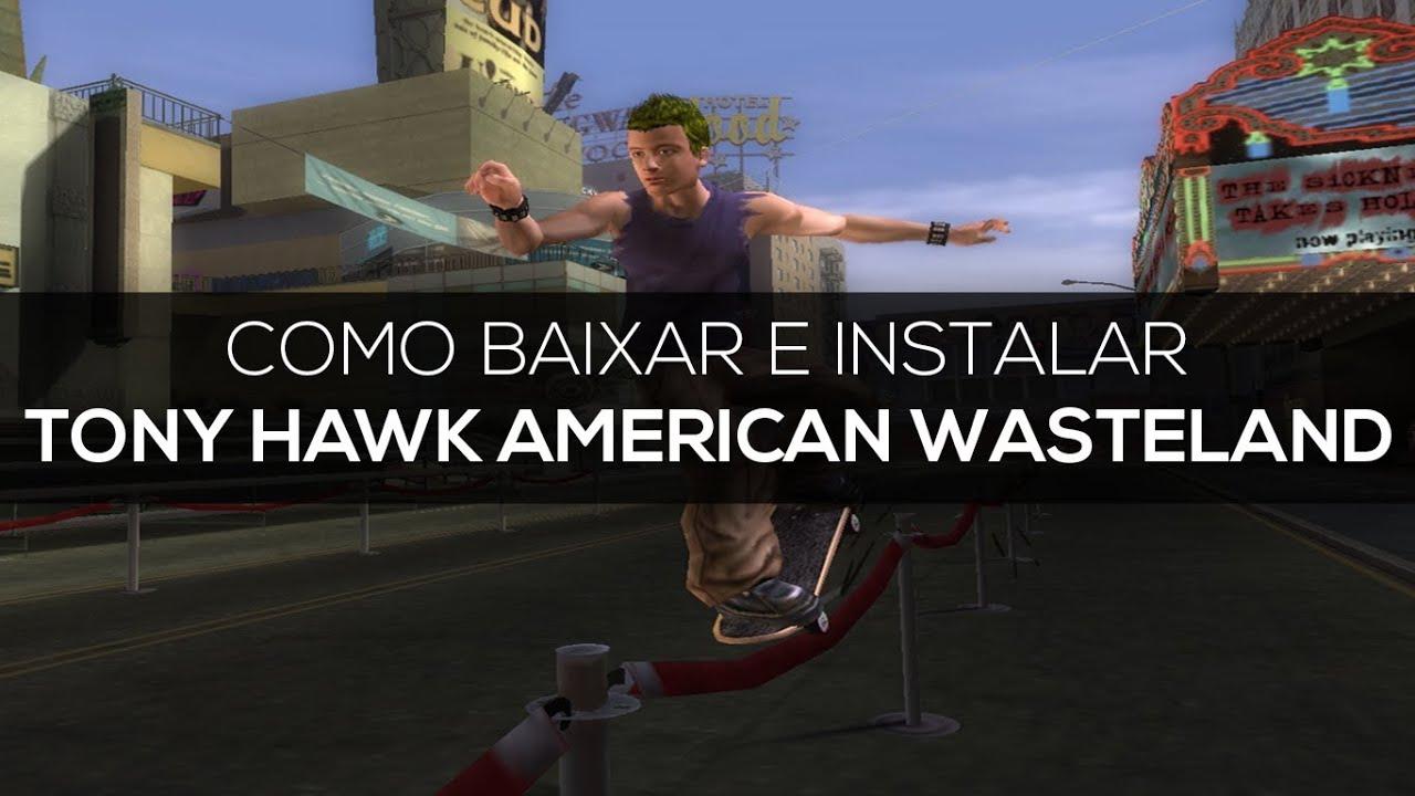 tony hawk american wasteland pc torrent