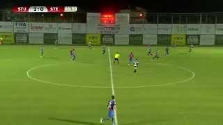 Spielaufzeichnung: SK Sturm 2:0 FC Steaua Bukarest (0:0)