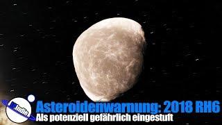 Asteroidenwarnung: 2018 RH6 potenziell gefährlich