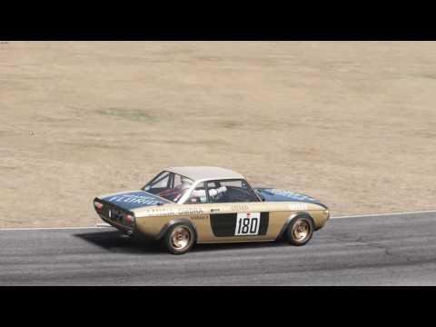 Assetto Corsa Quick Race @ Riverside Raceway, Lancia Fulvia S1
