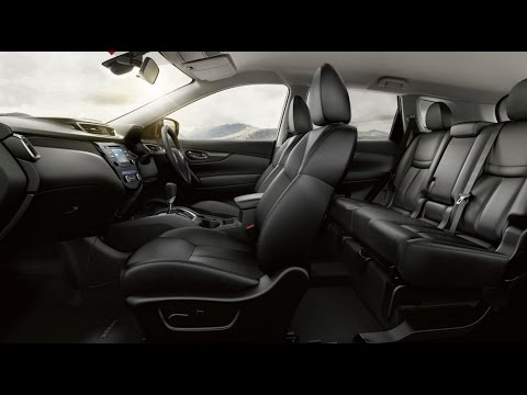 nissan x trail 2016 interior youtube. Black Bedroom Furniture Sets. Home Design Ideas