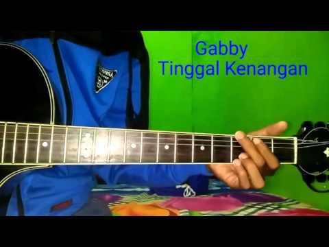 Gabby Tinggal Kenangan (petikan gitar)