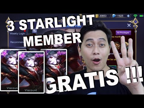 3 STARLIGHT MEMBER FROM KELVIN GAMING !!! - GIVEAWAY PART 13