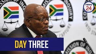 WATCH LIVE: Zuma at Zondo - testimony enters third day