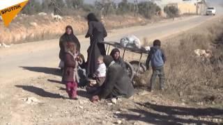 بالفيديو.. جندي سوري يلتقي بذويه بعد خروجهم من أحياء حلب