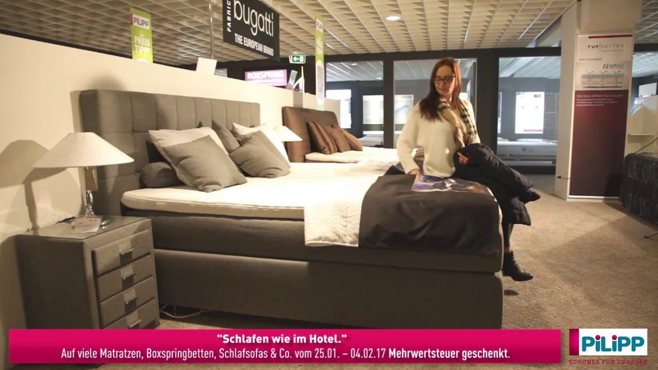 schlafen wie im hotel youtube. Black Bedroom Furniture Sets. Home Design Ideas