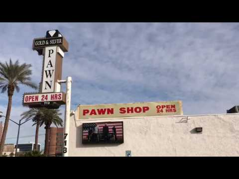 PAWN STARS!!!  Visit to Gold & Silver Pawn Shop!
