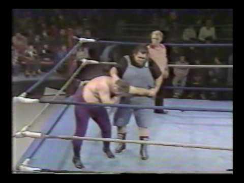 Haystacks Calhoun vs  Bill Steele 1980
