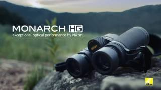 Nikon MONARCH HG binoculars offer a wide field of view, edge-to-edg...