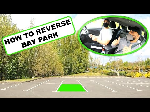 How To Reverse Bay Park Perfectly | DRIVING TEST TIPS