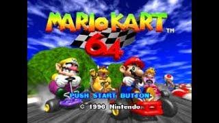 mario kart 64 (quedo de tercero)