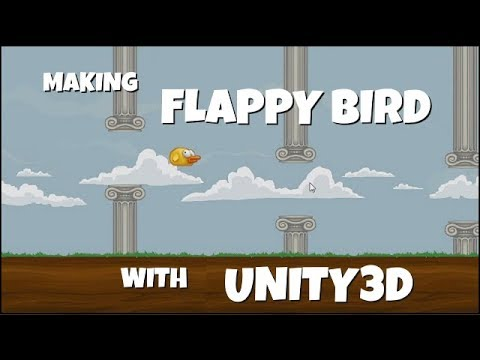 Make Flappy Bird With Unity3D - Learning To Make Games