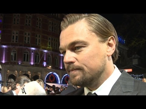 """Leonardo DiCaprio Would """"Love"""" to Win an Oscar for The Wolf of Wall Street"""