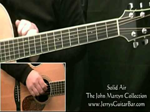 john martyn solid air - the tuning and the chord shapes