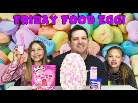 Friday Food Egg - SHOPKINS SEASON 4 Valentines Day Sweet Heart Collection