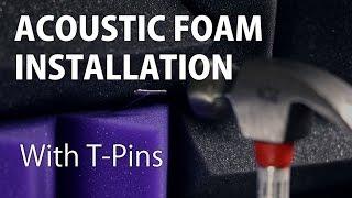 Sound Foam Installation Tutorial
