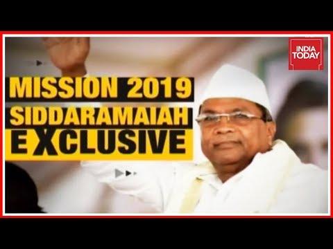 K'taka CM Siddaramaiah Exclusive Speaks To Rajdeep Sardesai