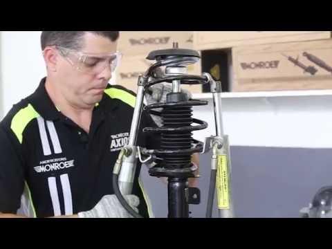 Dica de montagem dos amortecedores dianteiros no Citroën C3