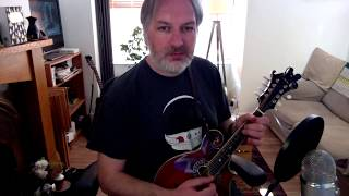 The Green Mountain (reel) on mandolin