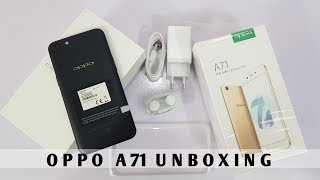 Oppo A71 Unboxing & First Look [Urdu/Hindi]