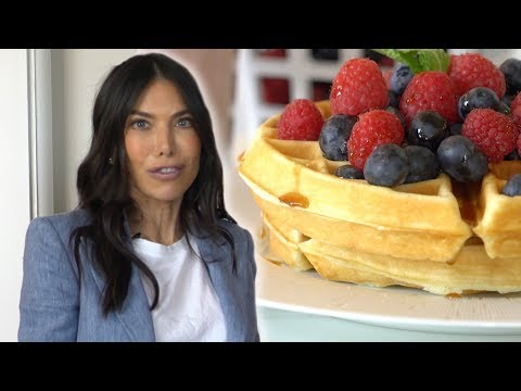 How To Make A Healthy Bagel Waffle With Tanya Zuckerbrot