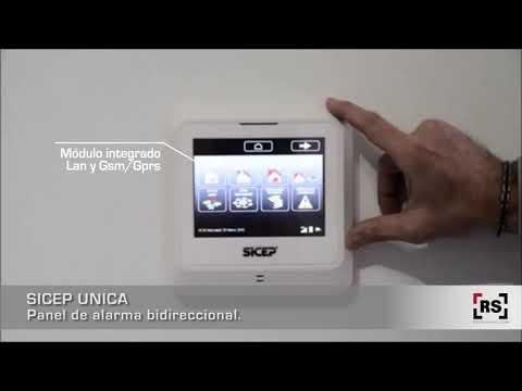 SICEP UNICA Panel de Alarma Bidireccional, gestión desde celular | RSeguridad