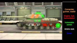 World of Tanks   IS Hit Zones / Weak Spots - Tier 7 Soviet Heavy Tank(, 2014-05-26T15:41:38.000Z)