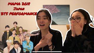 2018 MAMA IN JAPAN BTS (방탄소년단) FULL PERFORMANCE *Reaction*