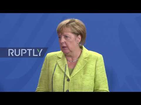 Germany: Merkel condemns 'escalation of rhetoric' in US-N. Korea dispute