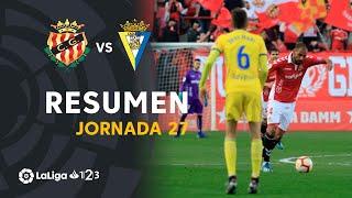 Resumen de Nàstic vs Cádiz CF (2-3)