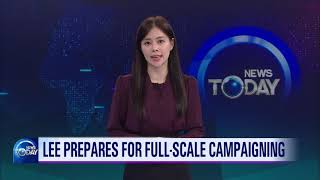 LEE PREPARES FOR FULL SCALE CAMPAIGNING (News Today) l KBS WORLD TV 211022