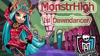 Обзор на куклу MonsterHigh Isi Dawndancer Brand Boo Students ( Монстер Хай Иси Донденсэр)