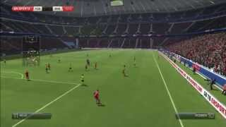 FIFA 14 PS3 Gameplay [HD] 1080p