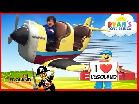 LEGOLAND Amusement Park for kids Family Fun Playground Children Play Center Ryan ToysReview