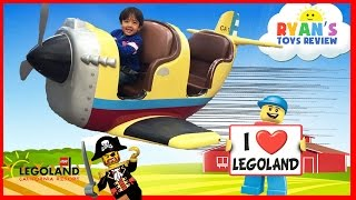 LEGOLAND Amusement Park for kids Family Fun Playground Children Play Center Ryan ToysReview