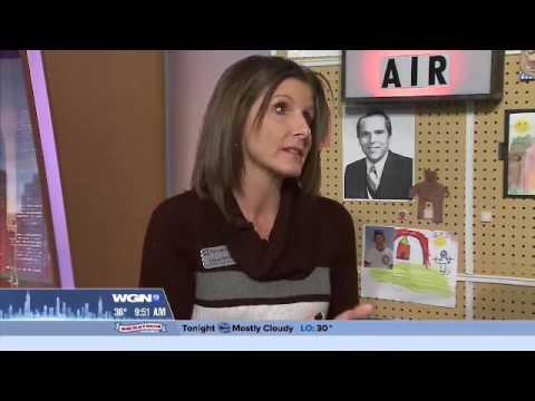 WGN News Highlights Harper College Financial Aid Workshop