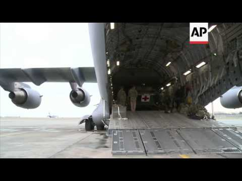 Second British transport plane arrives in France to help Mali mission