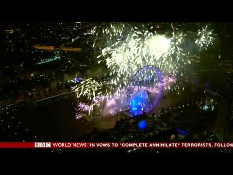NEW YEAR 2014 IN LONDON LIVE BBC WORLD NEWS
