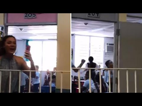 Kids Run Cheering Through Halls as Power Is Restored to Puerto Rico School