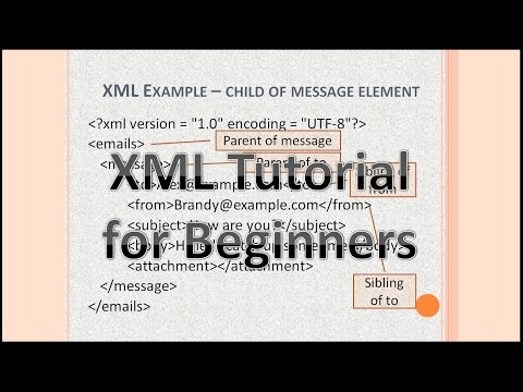 XML coding tutorial for beginners - Part 1