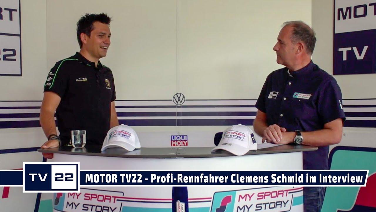 MOTOR TV22: Profi-Rennfahrer Clemens Schmid im Interview