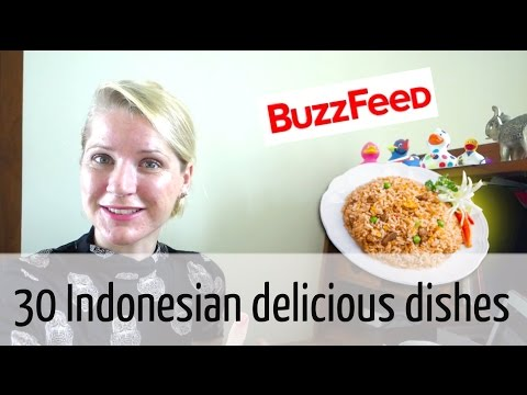 Me commenting on the Buzz Feed list of 30 Delicious Indonesian Dishes You Need to Try