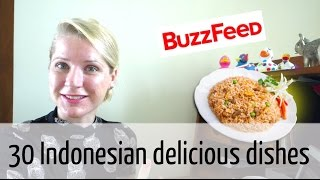Me commenting on the Buzz Feed list of 30 Delicious Indonesian Dishes You Need to Try | Coffee with Nani