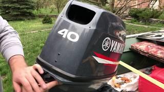 видео Лодочный мотор Ямаха 40