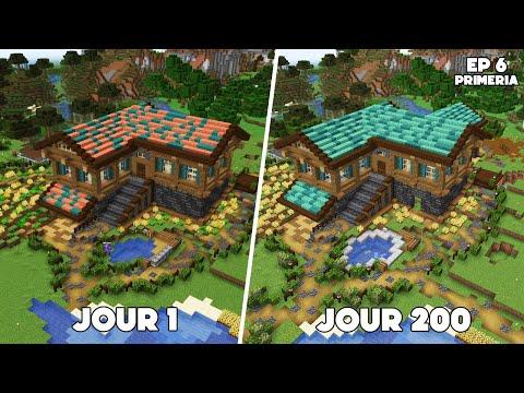 Ma MAISON après 200 JOURS MINECRAFT ! - Episode 6 Primeria S3 - Minecraft Survie 1.17